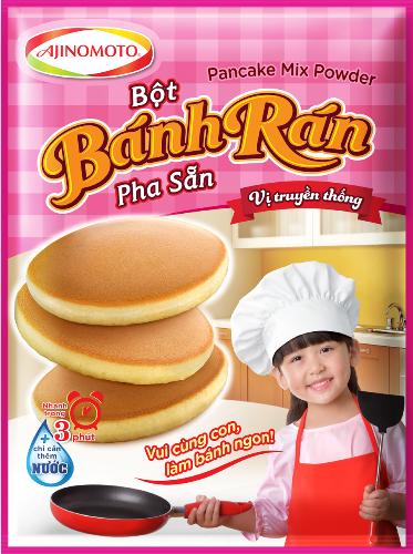 Bột bánh rán pha sẵn Ajinomoto: Lựa chọn tiện lợi - ảnh 1