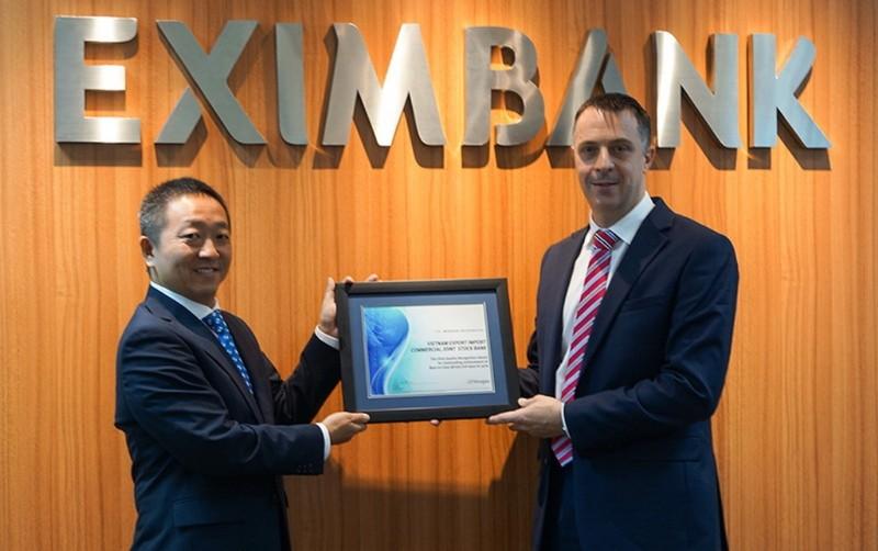 Eximbank: Giải thưởng thanh toán quốc tế xuất sắc  - ảnh 1