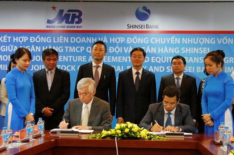MB ký hợp đồng liên doanh cùng Shinsei Bank   - ảnh 1