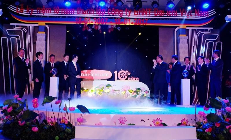 Dai-ichi Việt Nam kỷ niệm 10 năm thành lập - ảnh 1