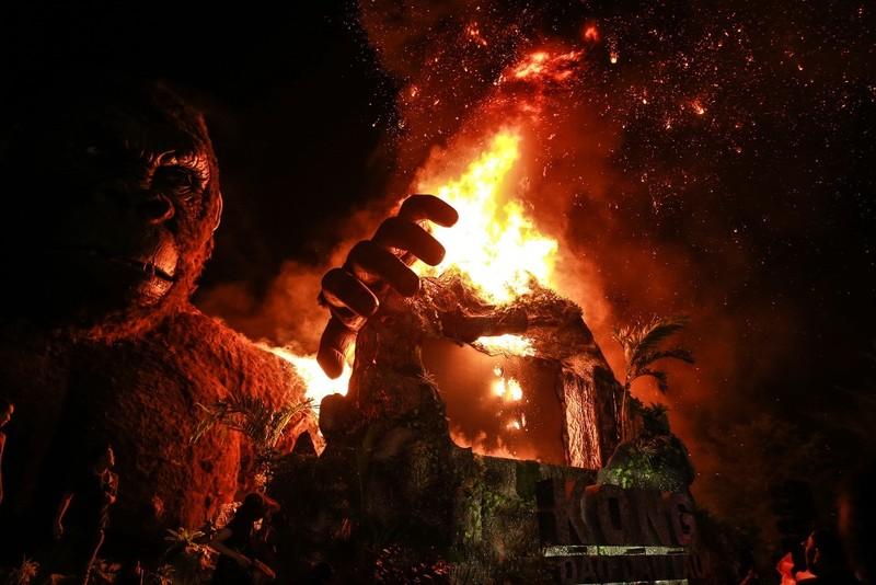 Chùm ảnh cháy nổ buổi ra mắt phim Kong: Skull Island - ảnh 1