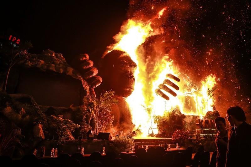 Chùm ảnh cháy nổ buổi ra mắt phim Kong: Skull Island - ảnh 2
