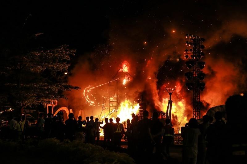 Chùm ảnh cháy nổ buổi ra mắt phim Kong: Skull Island - ảnh 4