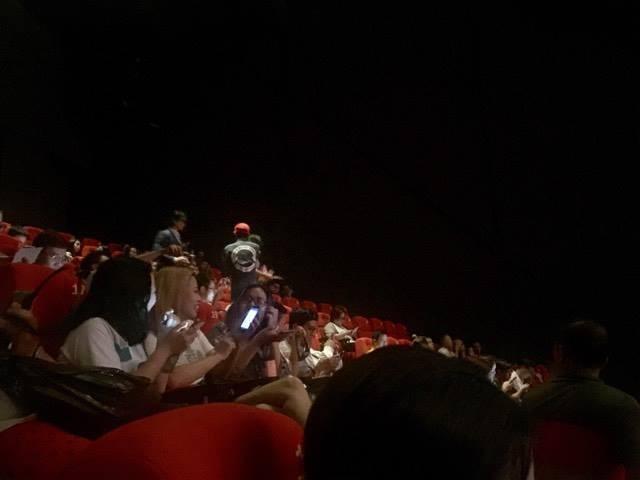 Cháy nổ tại buổi ra mắt phim Kong: Skull Island - ảnh 1