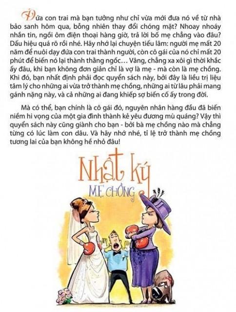 Mẹ chồng Việt hãy đọc lời khuyên này của mẹ chồng Tây - ảnh 1