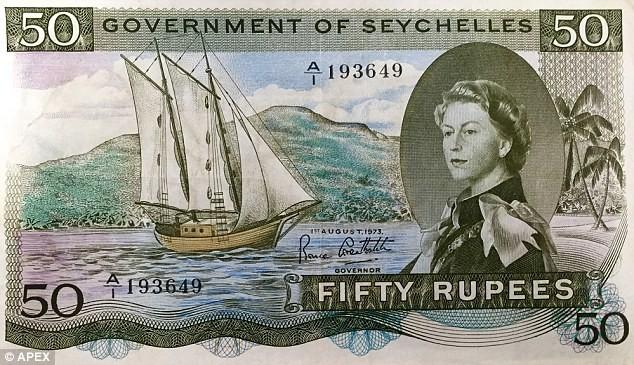 Một tờ tiền có chữ 'sex' nằm ẩn bên trong - ảnh 1
