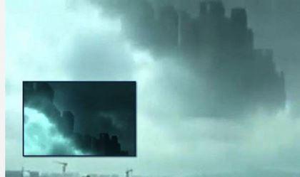 Hàng ngàn người thấy thành phố 'bay lơ lửng' giữa trời - ảnh 1