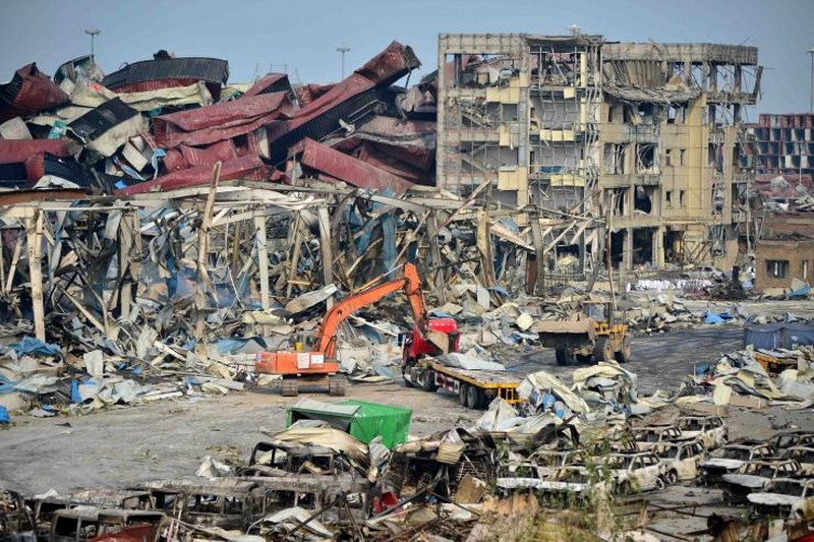 Trung Quốc lại rung chuyển vì nổ hóa chất - ảnh 1