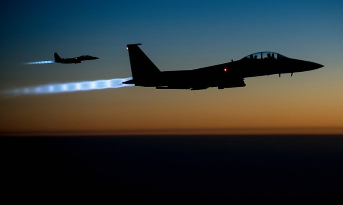 Máy bay không người lái Mỹ rơi ở Kuwait - ảnh 1