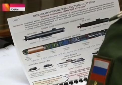 Truyền hình Nga vô tình tiết lộ vũ khí bí mật mới  - ảnh 1