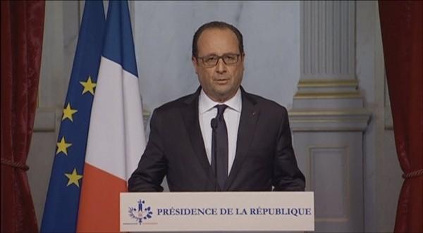 Tổng thống Pháp tuyên bố không khoan nhượng kẻ tấn công - ảnh 1