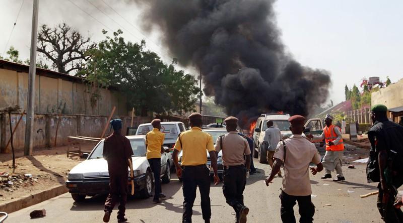 Nổ chợ: Ít nhất 32 người chết, 80 người bị thương - ảnh 1