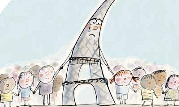 Pháp cho in tờ rơi  giải thích vụ khủng bố Paris - ảnh 1