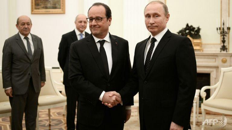 Nga – Pháp bắt tay chống IS - ảnh 1