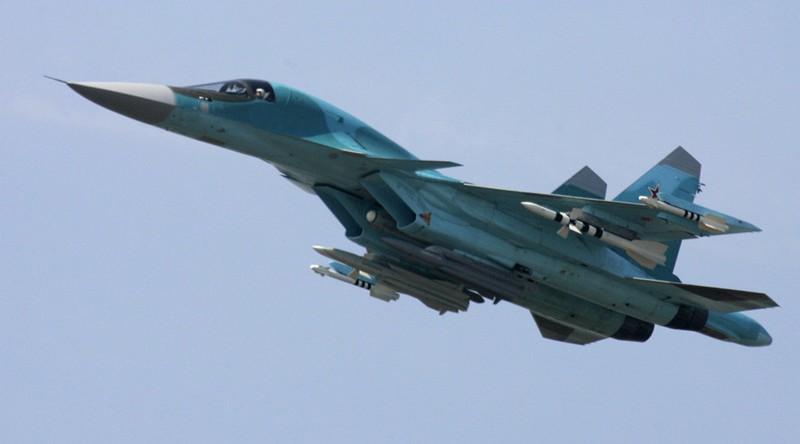Nga lần đầu trang bị tên lửa không đối không cho Su-34 tại Syria - ảnh 1