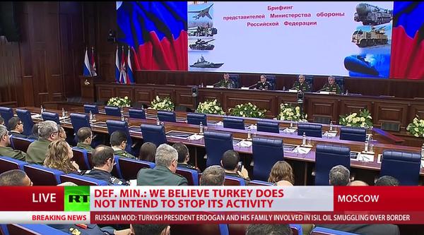 Nga tung bằng chứng gia đình tổng thống Thổ Nhĩ Kỳ 'làm ăn' với IS - ảnh 1