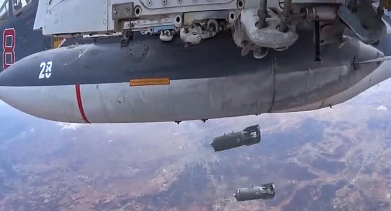 Mỹ chia sẻ dữ liệu bay không quân Nga cho liên quân tại Syria - ảnh 1