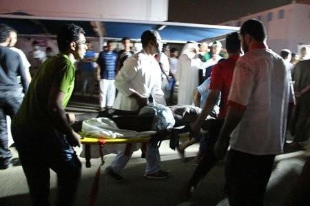 Cháy bệnh viện Saudi Arabia: 25 người chết, 107 người bị thương - ảnh 1