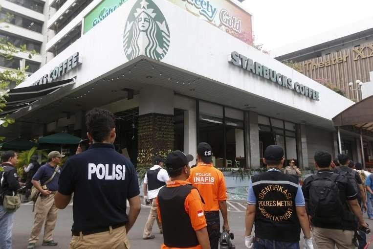 Indonesia bắt ba nghi phạm vụ tấn công Jakarta - ảnh 1