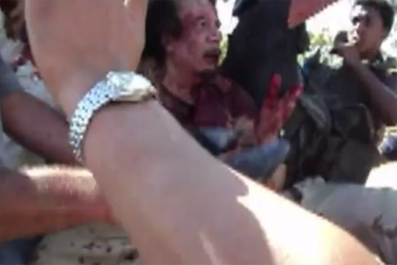 Tiết lộ giây phút cuối cùng trước khi ông Gaddafi bị xử bắn - ảnh 2