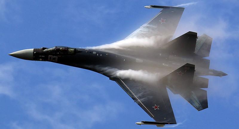 Nga điều tiêm kích tối tân Su-35 trực chiến tại Syria - ảnh 1
