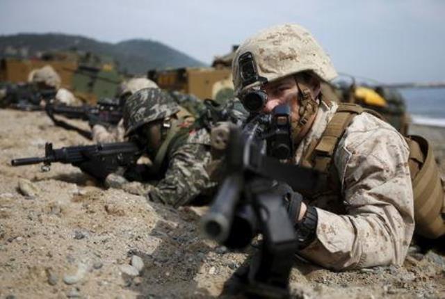 Mỹ-Hàn tiến hành cuộc tập trận có quy mô lớn nhất - ảnh 1