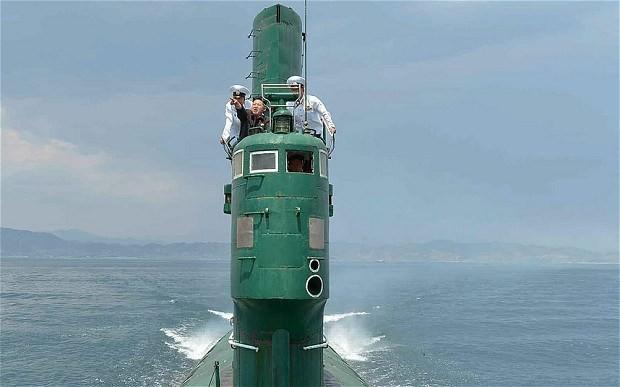 Tàu ngầm Triều Tiên đột nhiên mất tích - ảnh 1