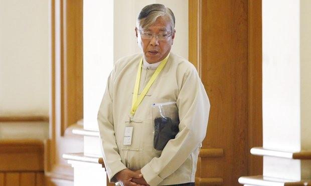 Bạn thân của bà Suu Kyi trở thành tổng thống Myanmar - ảnh 1