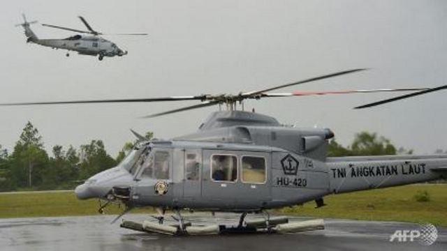 Rơi trực thăng quân sự ở Indonesia, 12 người thiệt mạng - ảnh 1