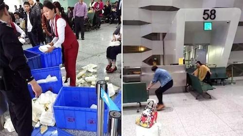 'Hỗn chiến' sân bay Trung Quốc: Hành khách ẩu đả với cảnh sát - ảnh 2