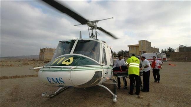 Trực thăng cứu thương Iran rơi, 10 người thiệt mạng - ảnh 1