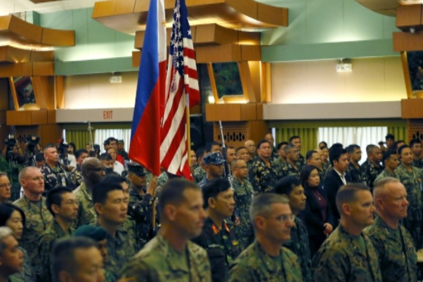 Lính nhảy dù Philippines thiệt mạng khi tập trận cùng Mỹ - ảnh 1