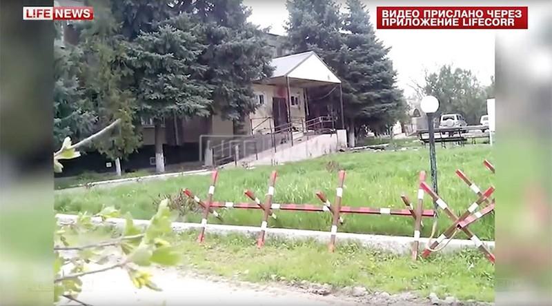 Đồn cảnh sát Nga bị đánh bom tự sát - ảnh 1