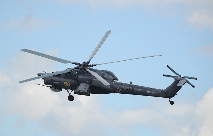 Trực thăng Nga rơi ở Syria: 2 phi công thiệt mạng - ảnh 1