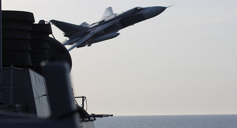 Báo Trung Quốc: Mỹ bị máy bay Nga 'hạ nhục' - ảnh 1