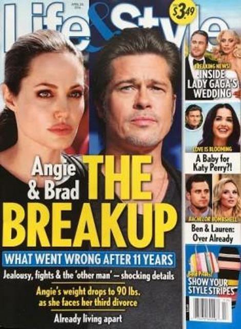 Thực hư chuyện Brad Pitt và Angelina Jolie 'chính thức chia tay' - ảnh 1