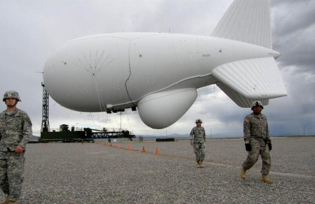 Mỹ chuyển khinh khí cầu quân sự giúp Philippines giám sát biển Đông - ảnh 1