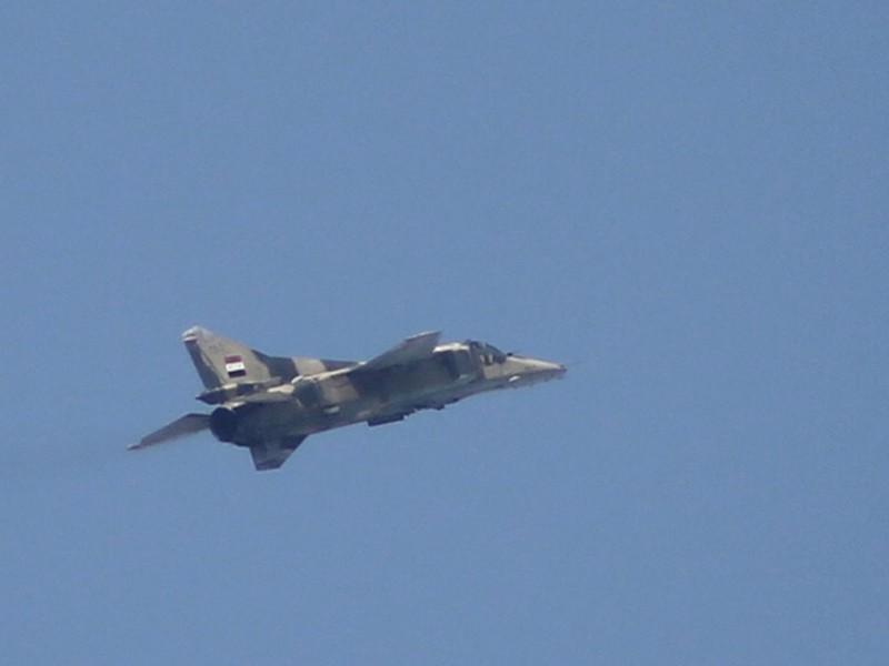 IS tuyên bố bắt sống phi công sau khi bắn rơi máy bay ở Syria - ảnh 1