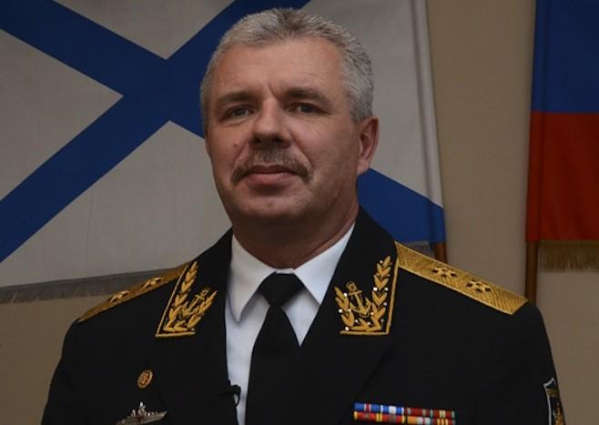 Ukraine ra lệnh bắt giữ Tư lệnh hạm đội Biển Đen của Nga - ảnh 1