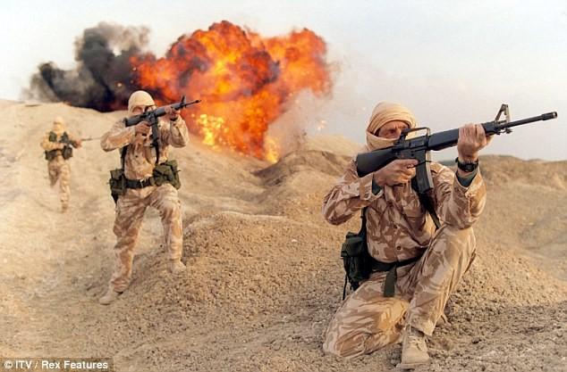 Lực lượng đặc nhiệm Anh bị IS phục kích gài bom - ảnh 1