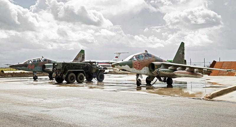 Nga rút toàn bộ chiến đấu cơ Su-25 khỏi Syria - ảnh 1