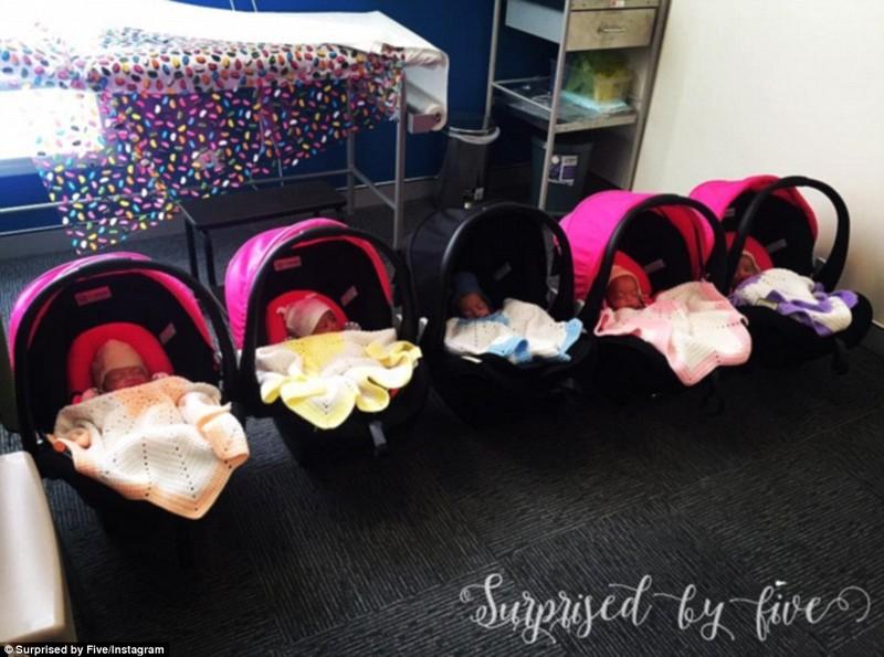 Bà mẹ sinh 5 ở Úc 'xoay mòng mòng' với đàn con nhỏ - ảnh 4