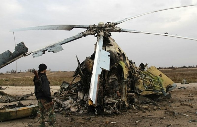 IS tuyên bố bắn hạ máy bay quân sự Syria - ảnh 1
