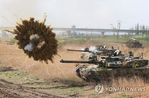 Hàn Quốc sắp triển khai 100 xe tăng 'Báo đen' đối phó Triều Tiên - ảnh 1