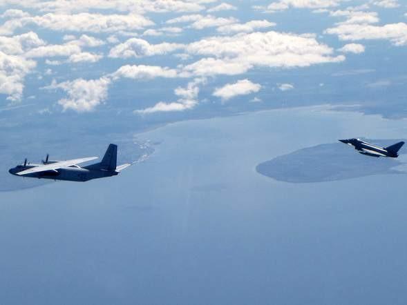 Chiến đấu cơ Anh chặn 3 máy bay Nga tiếp cận Baltic - ảnh 1