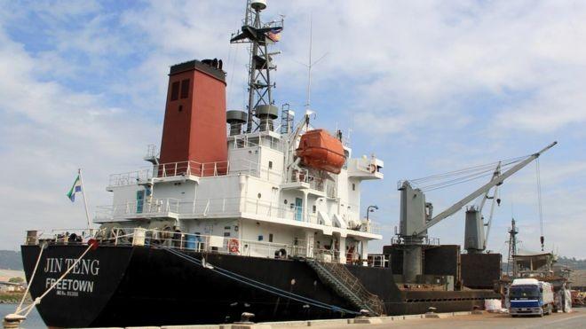 Phát hiện tàu Triều Tiên hoạt động bất chấp lệnh trừng phạt - ảnh 1