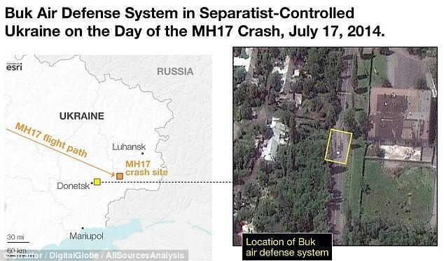 Rộ thêm bằng chứng tên lửa Nga bắn rơi máy bay MH17 - ảnh 1