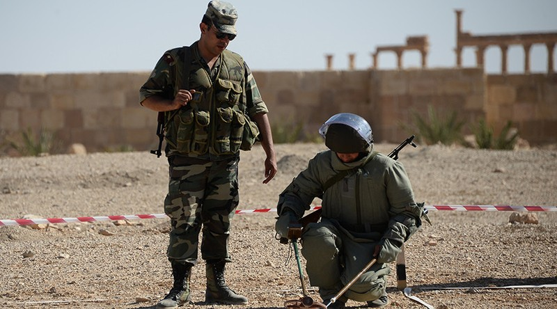Nga phủ nhận cáo buộc xây thêm căn cứ quân sự tại Syria - ảnh 1