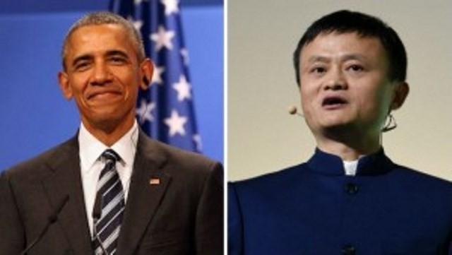 Tổng thống Obama bí mật gặp tỉ phú Trung Quốc Jack Ma - ảnh 1