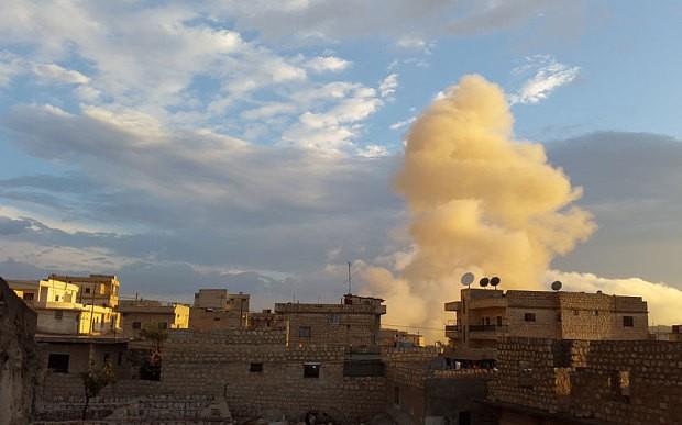 Nga mời Mỹ không kích chung ở Syria - ảnh 1